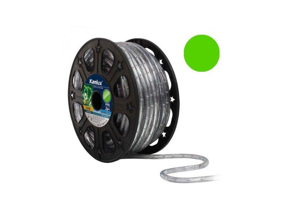 LED světelný had 50m GIVRO LED-GN zelená Kanlux 08633