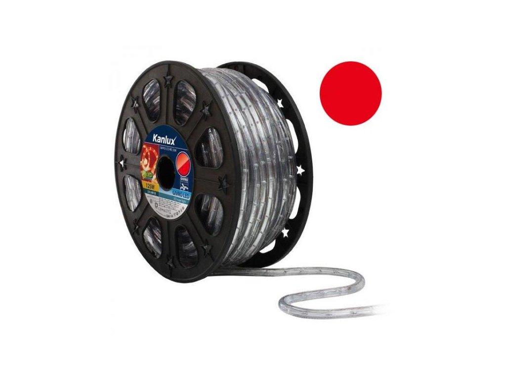 LED světelný had 50m GIVRO LED-RE červený Kanlux 08632