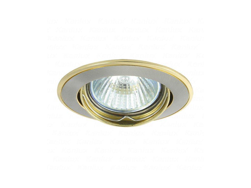 Kanlux 02803 BASK CTC-5515-SN/G - Podhledové bodové svítidlo