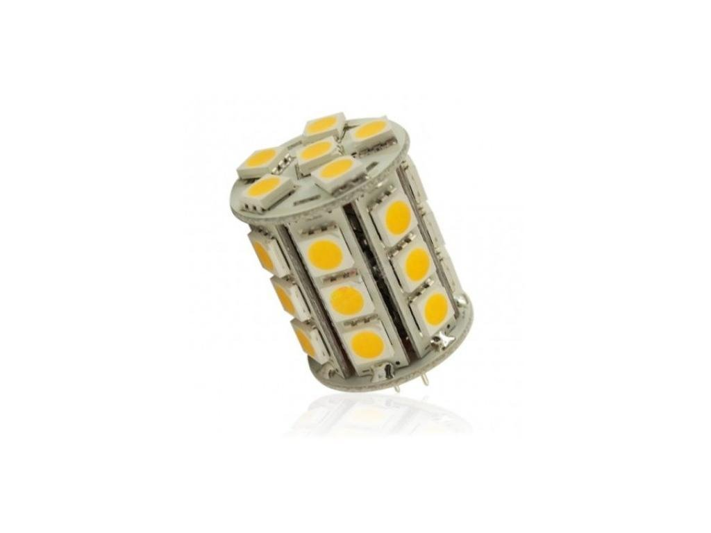 Interlook LED žárovka 5,4W 27xSMD5050 G4 450lm Neutrální