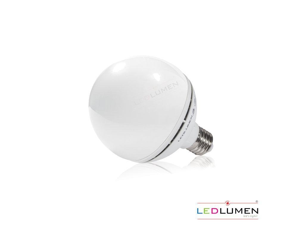 Ledlumen LED žárovka 11,5W 14xSMD2835 E27 G95 1160lm CCD Teplá