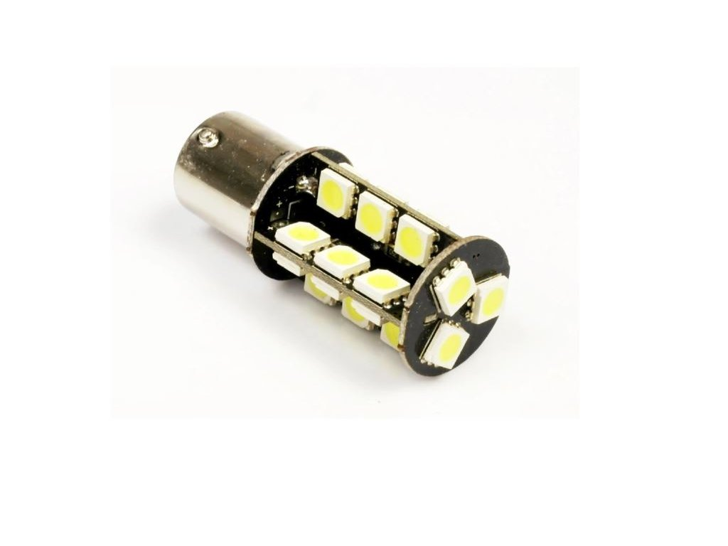 Interlook LED auto žárovka BA15S 27 SMD 5050 P21W CAN BUS