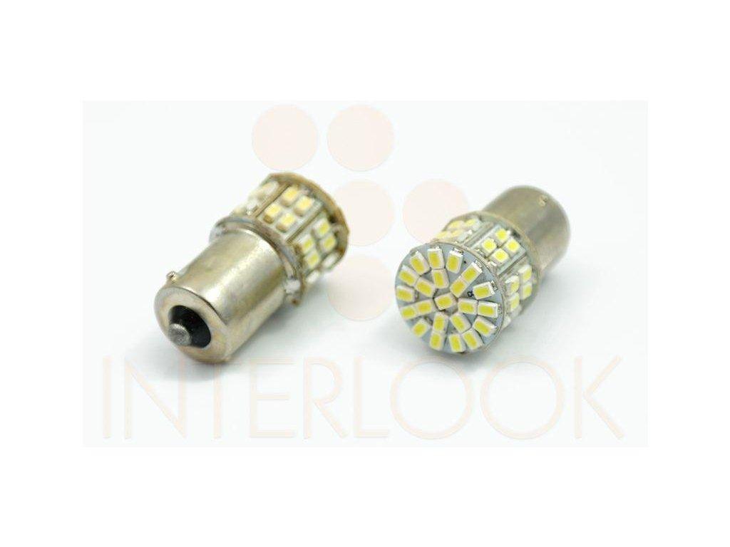Interlook LED auto žárovka BA15S 50 SMD 1206 P21W