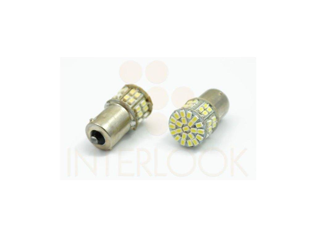 Interlook LED auto žárovka BA15S 50 SMD 1206 Py21W