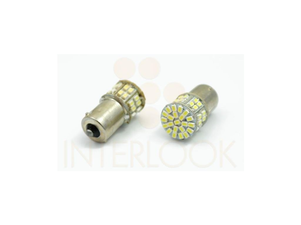 Interlook LED auto žárovka BA15S 50 SMD 1206 Py21W