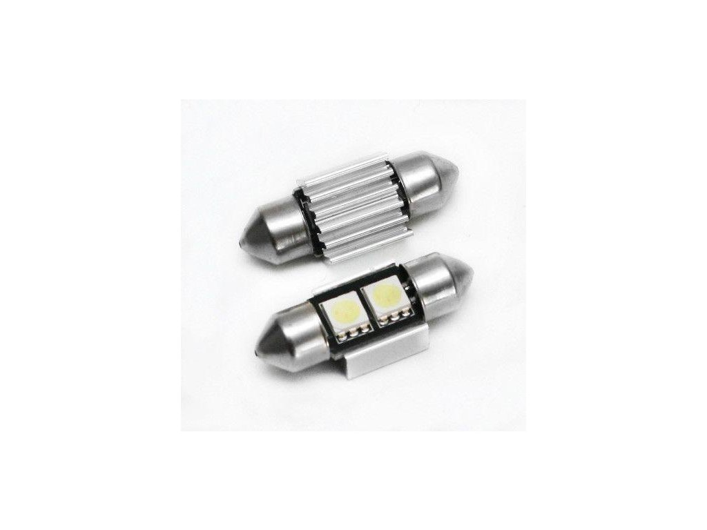 Interlook LED auto žárovka LED C5W 2 SMD 5050 CAN BUS 31mm