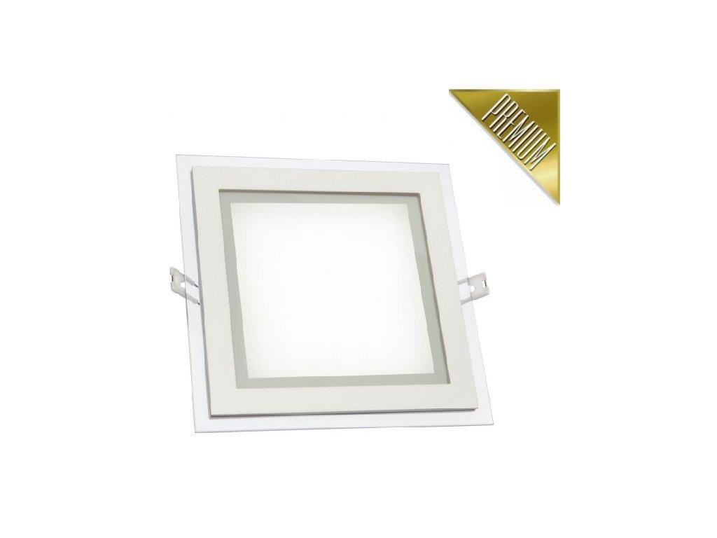Spectrum LED panel FIALE vestavný 6W 350lm 100x100mm 230V CCD Teplá
