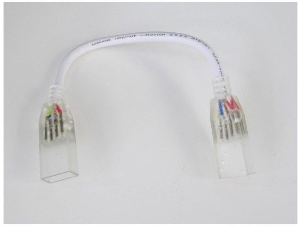 T-LED Spojka s kabelem pro RGB LED pásky 230V