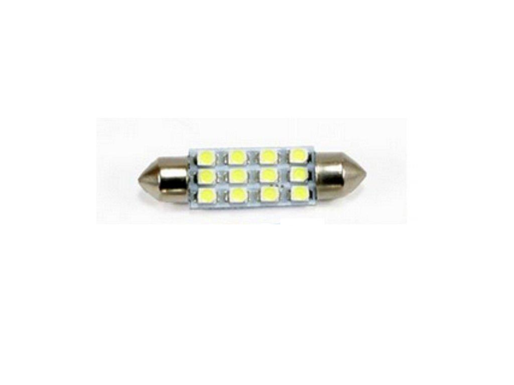 Interlook LED autožárovka C5W 12 SMD 1210 31mm