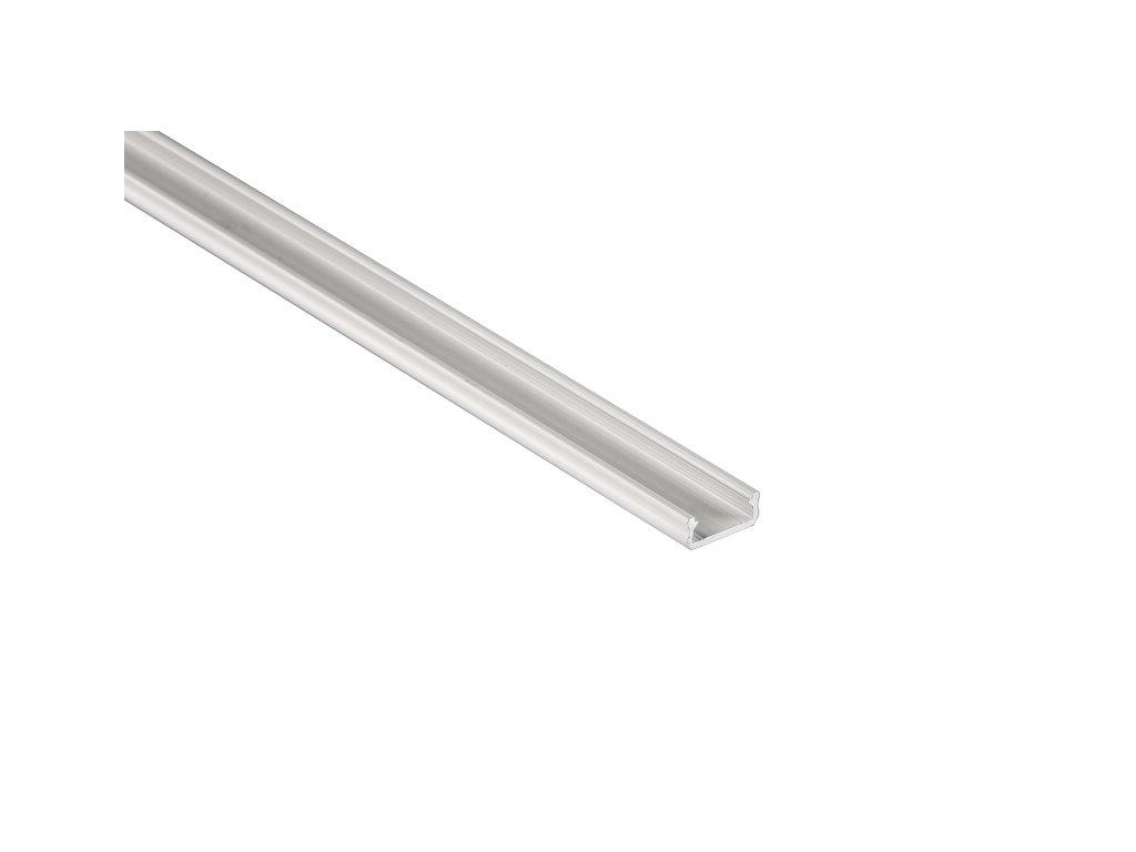 LEDLabs Hliníkový profil LUMINES D 1m pro LED pásky, bílý lakovaný