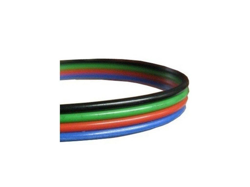 Berge Kabel pro LED pásek RGB, plochá čtyřlinka 4x0,35mm