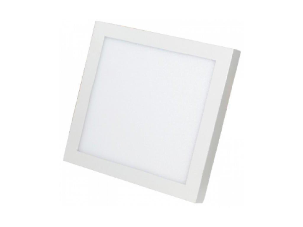 Berge LED panel přisazený 6W, 390lm, 120x120mm, 230V, CCD studená