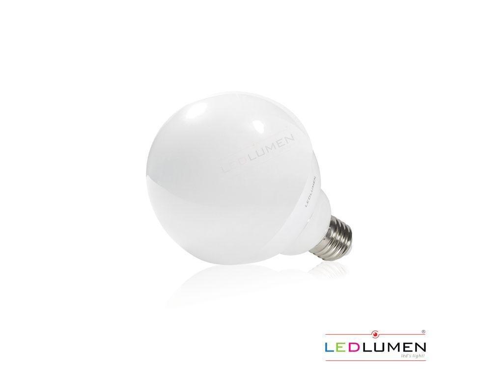 Ledlumen LED žárovka 15W 40xSMD5730 E27 G120 1500lm CCD Teplá