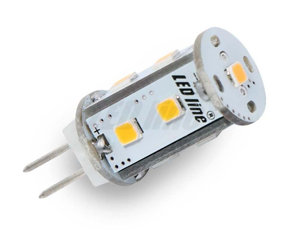 Led line LED žárovka 1,8W 9xSMD G4 150lm Corn Studená