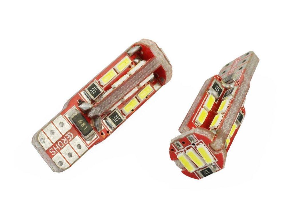 pol pl zarowka samochodowa led w5w t10 19 smd 4014 can bus 977 1[1][1]