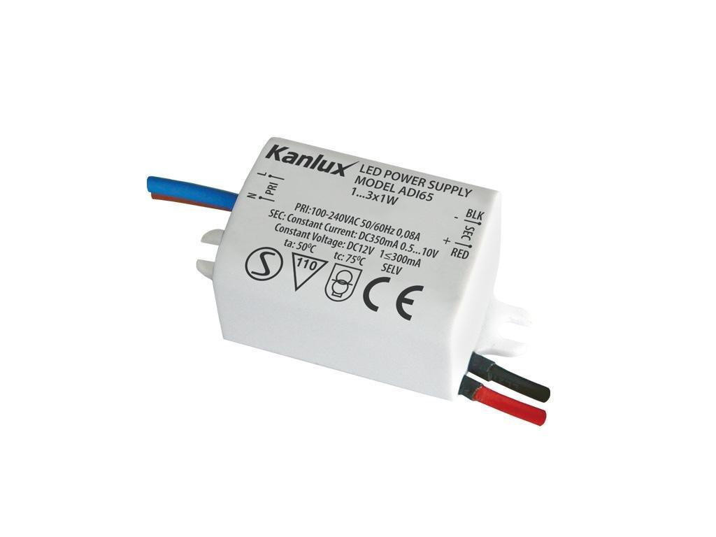 Kanlux 01440 ADI 350 1-3W  Elektronický transformátor pro napájení LED svítidel