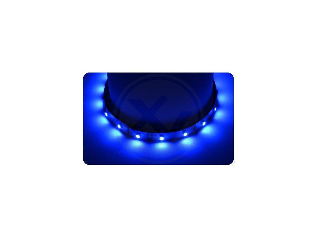 LED pásek 5m 300ks 2835 4,6W/m Modrá
