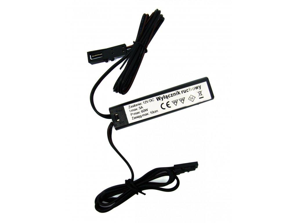 LEDLabs Spínač se stmívačem 3v1 s IR senzorem pro LED pásky a žárovky, 60W