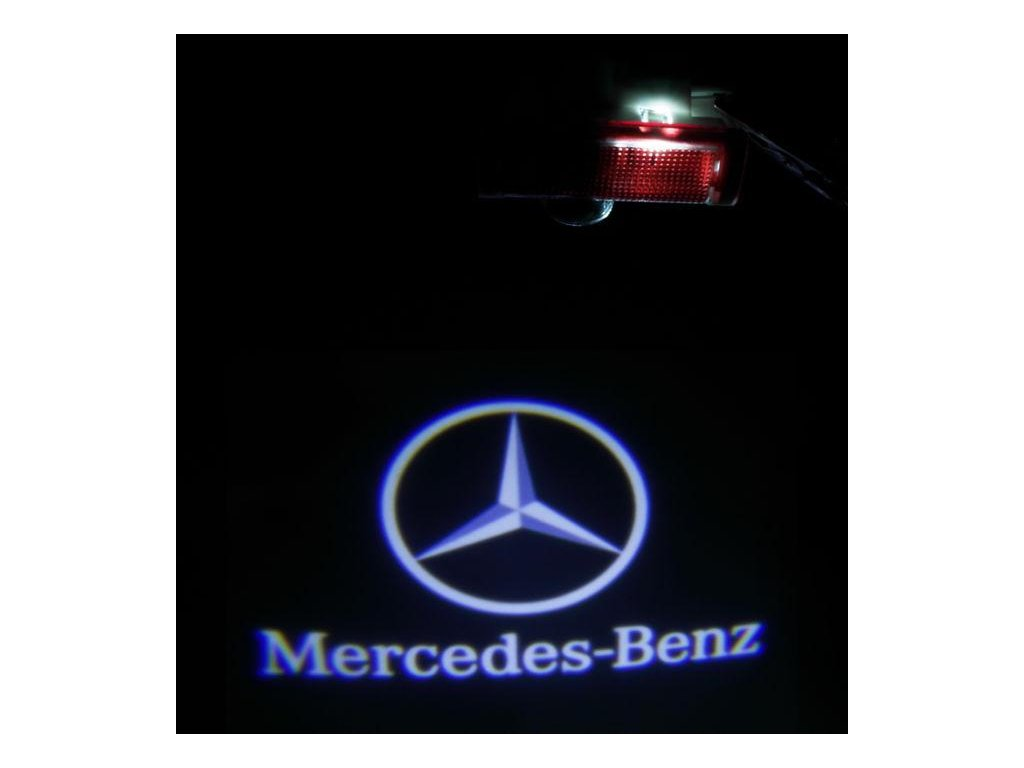 LED logo projektor MERCEDES-BENZ A B C E ML GL