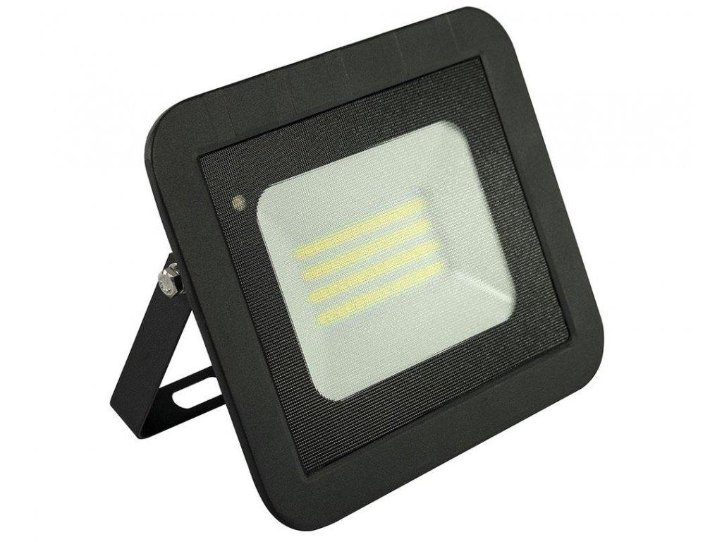 LED reflektor 50W s mikrovlným senzorem 4000lm SLIM Neutrální