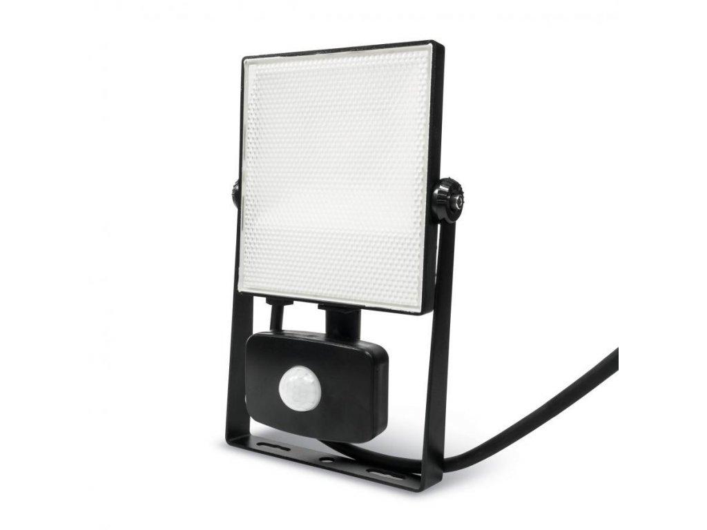 LED reflektor PIR 20W SMD2835 1850lm ULTRA SLIM Studená