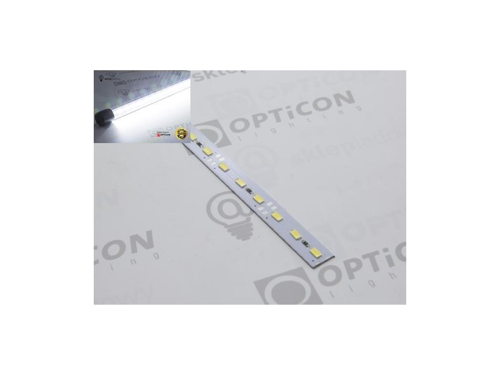 LED pásek STUDENÝ 20W/m 72ks/m SMD2835/m, hliníková lišta, délka 1m