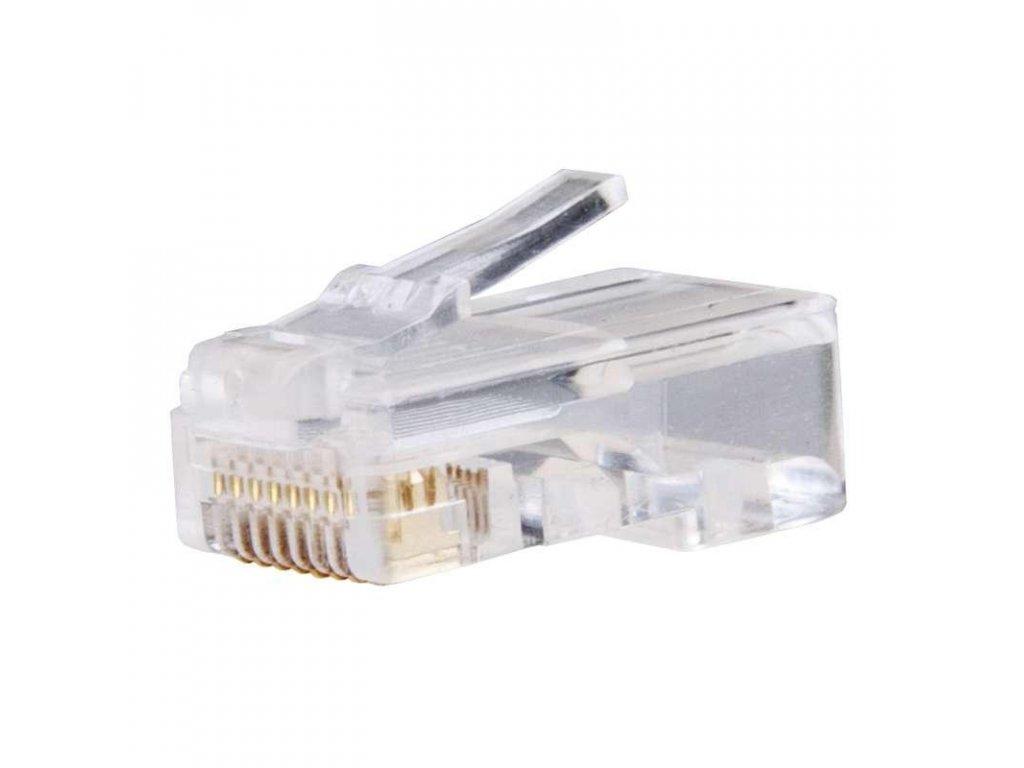 Konektor pro UTP kabel (drát), bílý