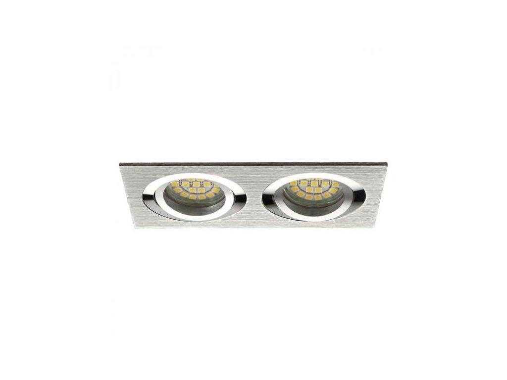 PremiumLED LUX01244 Jota K/2 stříbrná + patice