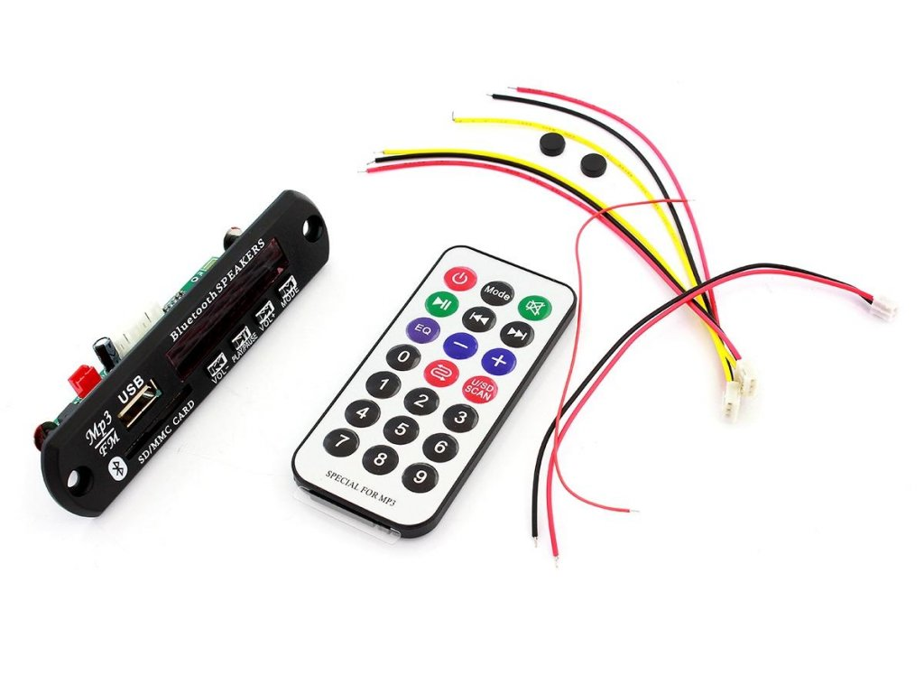 RS6 PANEL MP3 RADIO BLUETOOTH USB AUX  MP3 WMA dekodér do auta bezdrátový