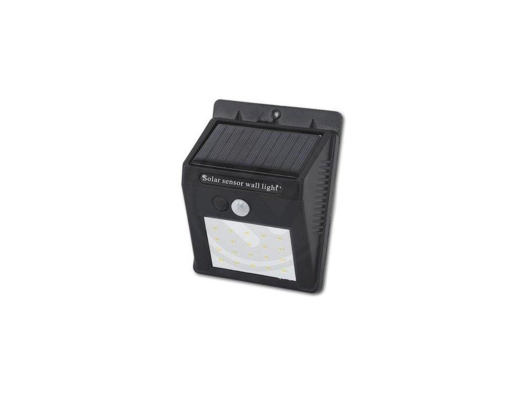 LED21 Solární LED reflektor PIR 11W SMD2835 880lm ULTRA SLIM Neutrální