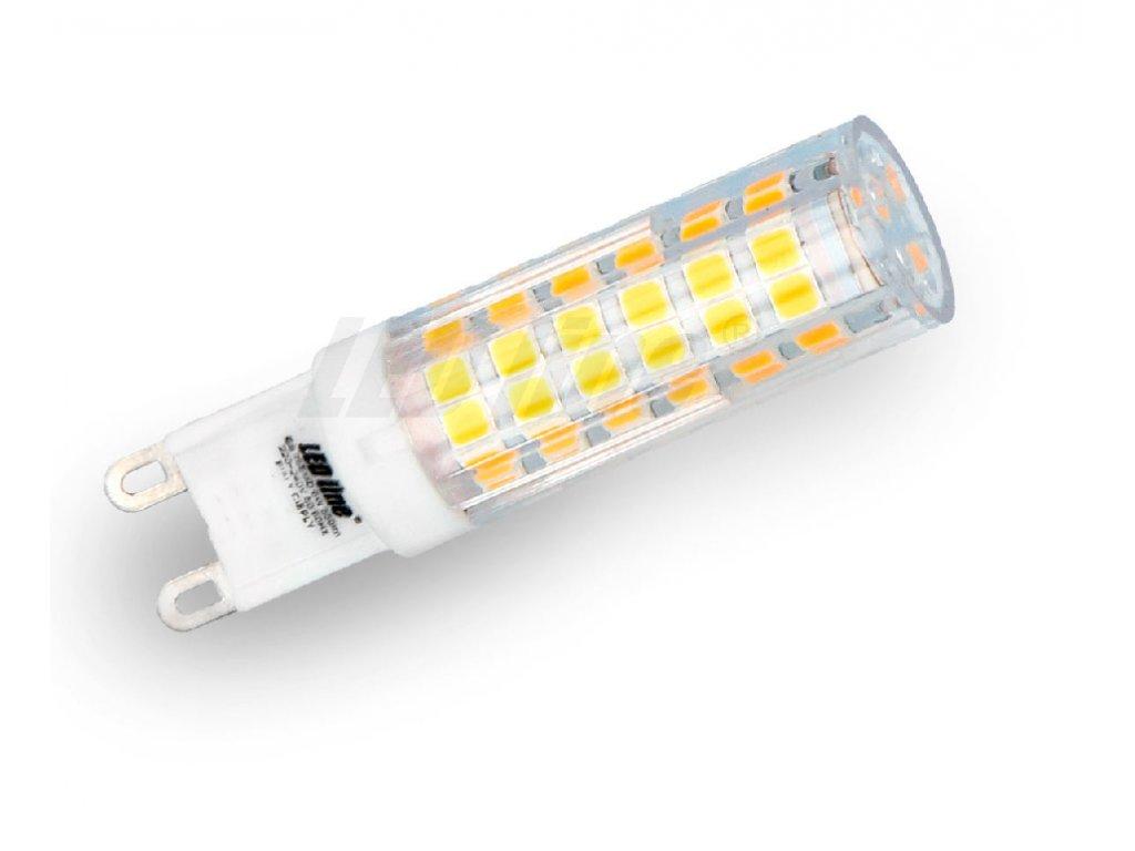 Ledin LED žárovka 8W SMD2835 G9 750lm Teplá