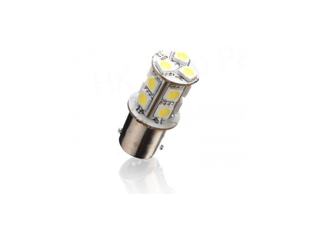LED autožárovka BAU1S 13 SMD 5050 Py21WU