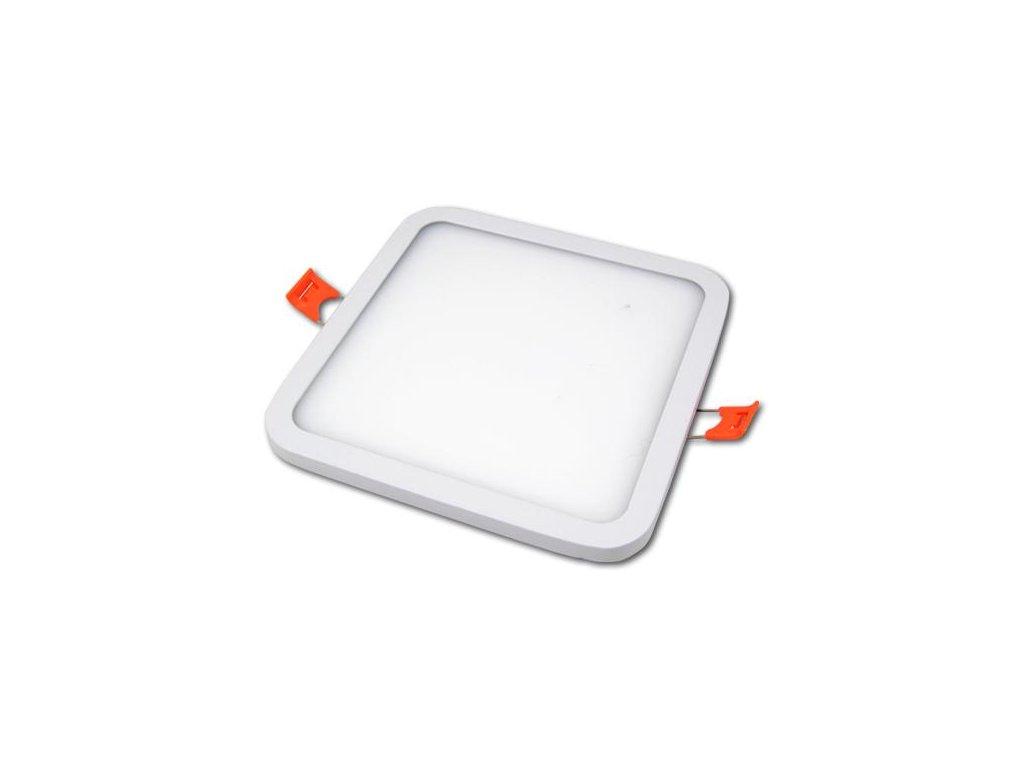 LED21 LED panel vestavný SLIM 12W 960lm 145x145mm 230V bílý, Neutrální
