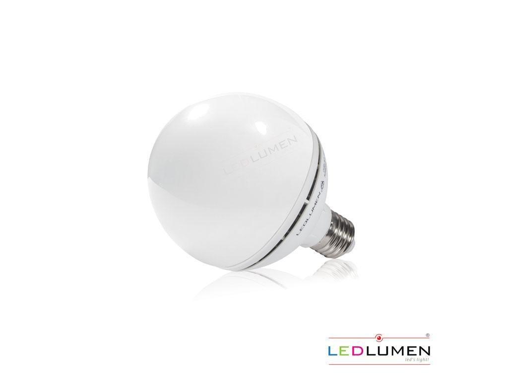 Ledlumen LED žárovka 11,5W 14xSMD2835 E27 G95 1200lm CCD Studená