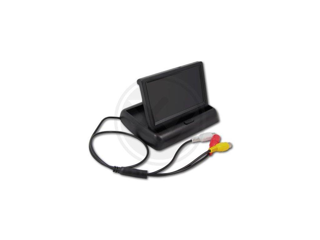 """LCD monitor pro couvací kamery skládací 4.3"""""""