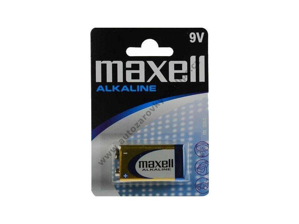 Baterie Maxell 6LR61 9V 1ks