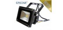LED reflektor 10W COB, venkovní 900lm, Teplá PremiumLED