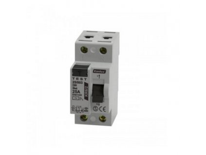 Kanlux 04472 proudový chránič dvoupólový KR6 63/003/2P (30mA)