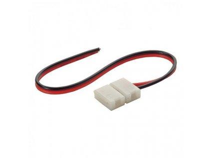 Konektor CLICK pro LED pásky o šířce 8mm s vodičem,jednoduchý