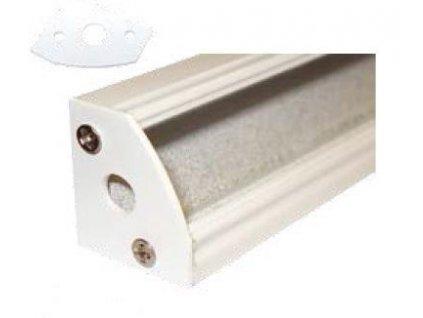 Krytka koncová pro profil MiniLUX 30/60°, bílá
