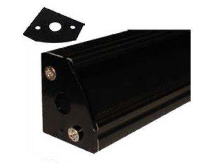 Krytka koncová pro profil MiniLUX 30/60°, černá
