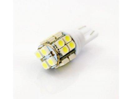 Interlook LED auto žárovka LED W5W T10 20 SMD 1210