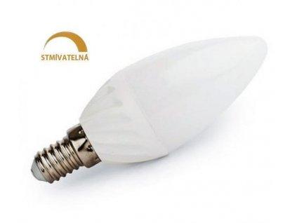 Ledspace LED žárovka 8W 14xSMD2835 E14 750lm Neutrální Stmívatelná