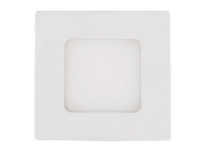 Berge LED panel vestavný 3W 200lm 83x83mm 230V CCD Teplá