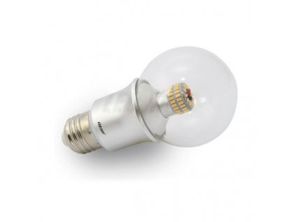 Led line LED žárovka 6W 60xSMD E27 530lm CCD, Teplá