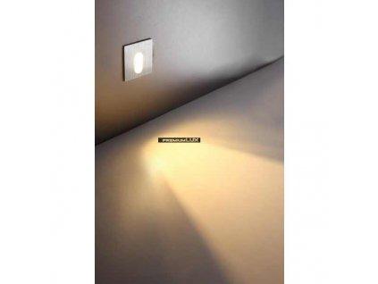 CREELAMP Podhledové bodové svítidlo nástěnné do schodišť Arvada LED 1W CREE White 120-72 CreeLamp bílé