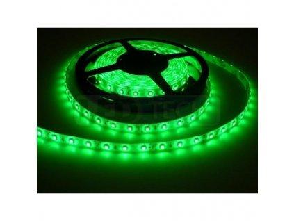 LED pásek Premium Line 3528 60LED/m, 5m, vodotěsný, zelená, 12V
