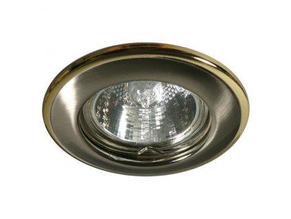 Kanlux 02820 HORN CTC-3114-SN/G - Podhledové bodové svítidlo