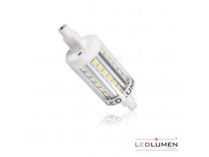 Ledlumen LED 4W - R7s náhrada malé halogenové trubice 36xSMD2835 78mm CCD Teplá