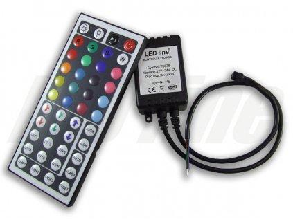 Ledin RGB kontroler s ovladačem pro LED pásky 108W 44 tlačítek